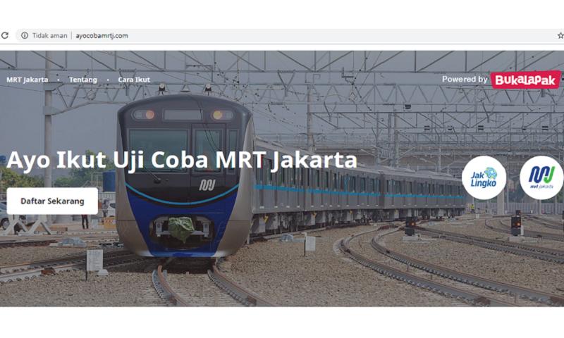 Mau Naik Mrt Jakarta Gratis Begini Cara Daftar Dan Dapatkan