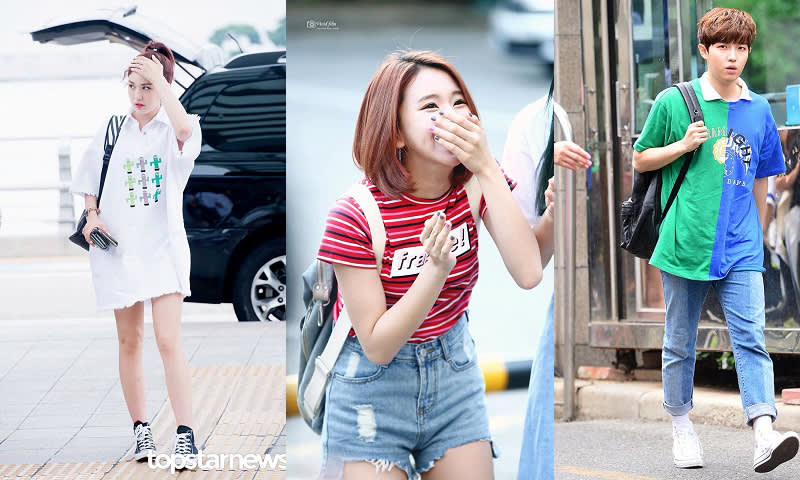 Summer Fashion Jeon Somi, Twice Chaeyoung, Wanna One Jaehwan