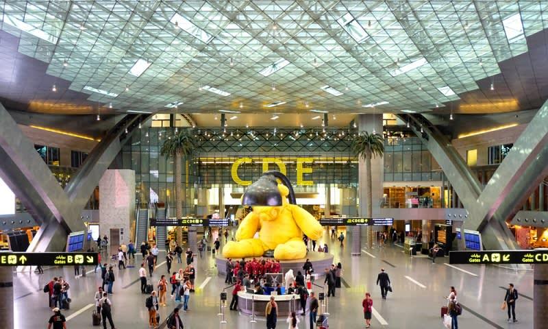 Bandara Doha Qatar
