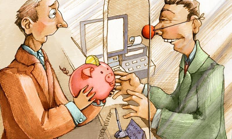Bank Tidak Kredibel