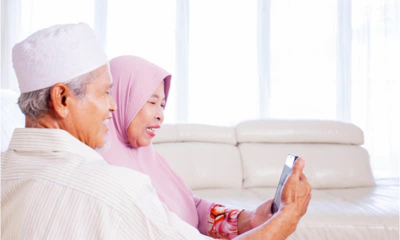 handphone untuk keluarga