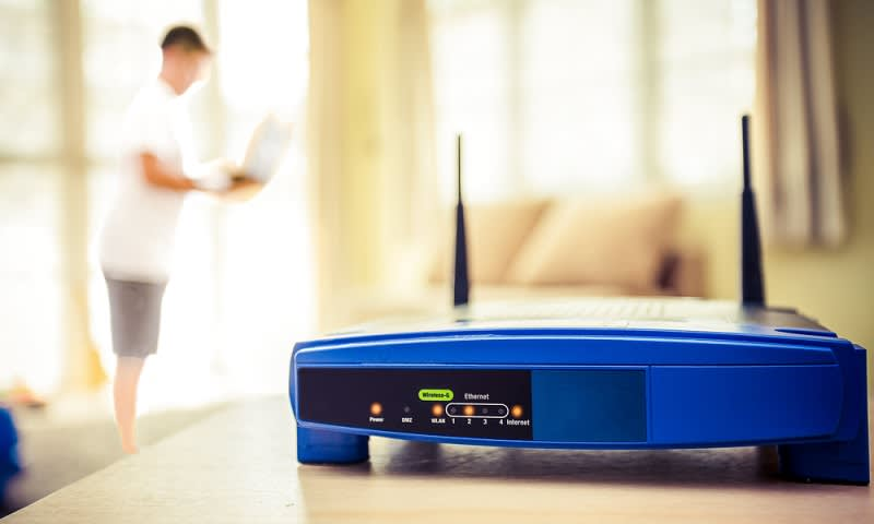 Ubah Posisi Router WiFi