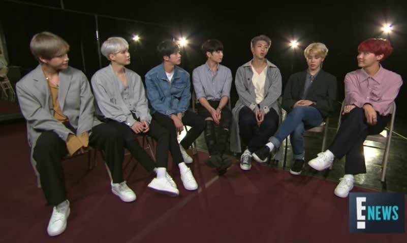 BTS E-News Interviews