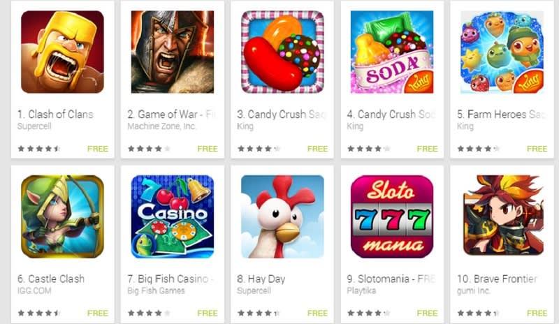 Freemium Games Set Play Store