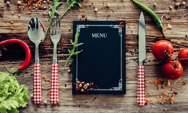 menu restoran