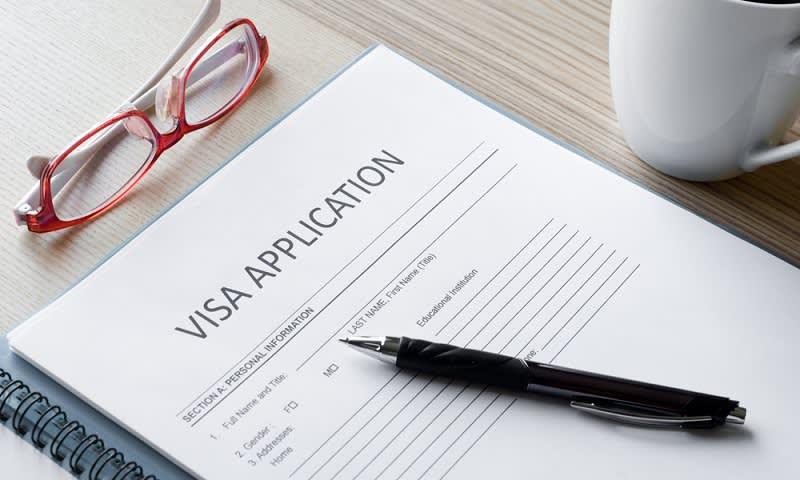Formulir Pengajuan Visa