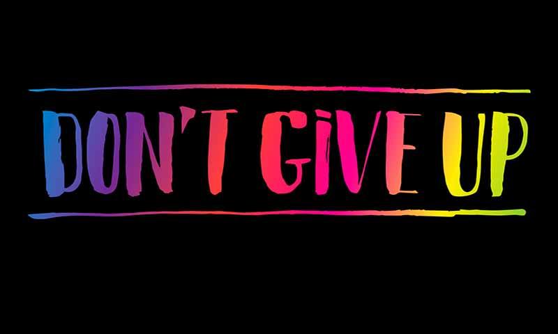 Jangan Pernah Menyerah