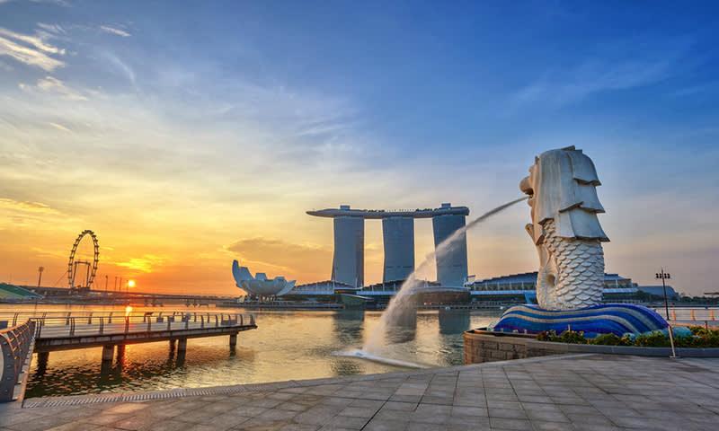 Liburan ke Singapura