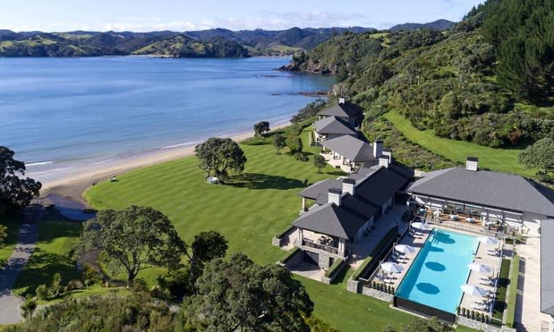 Helena Bay Lodge, Selandia Baru