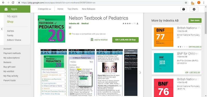 Nelson Textbook of Pediatrics Play Store