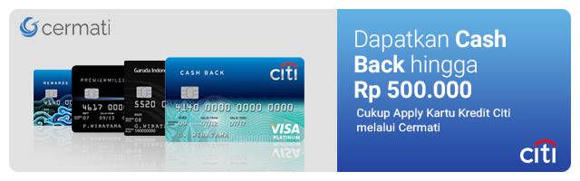 Kartu Kredit Citibank Detail Page