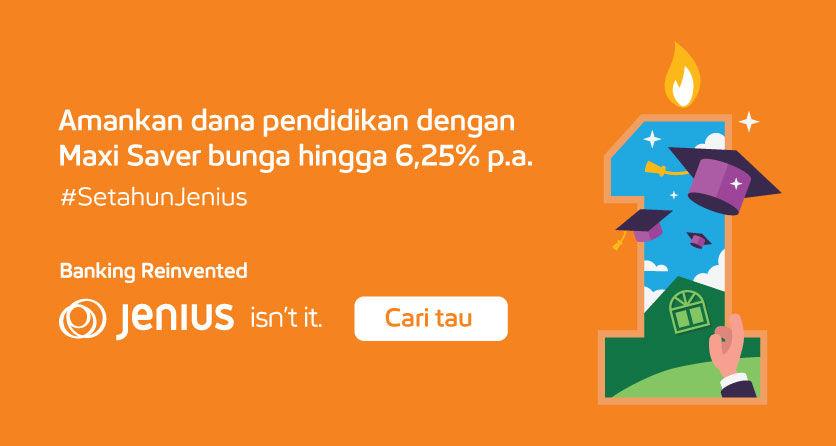 Homepage Sliding - Jenius