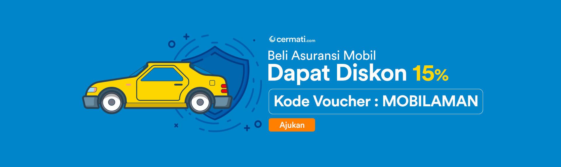 Homepage Sliding - Asuransi Mobil Diskon 15%