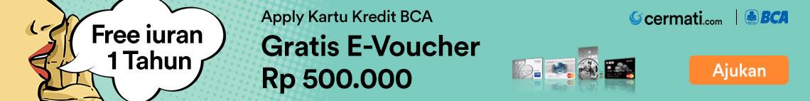 Kartu Kredit BCA Voucher Blibli