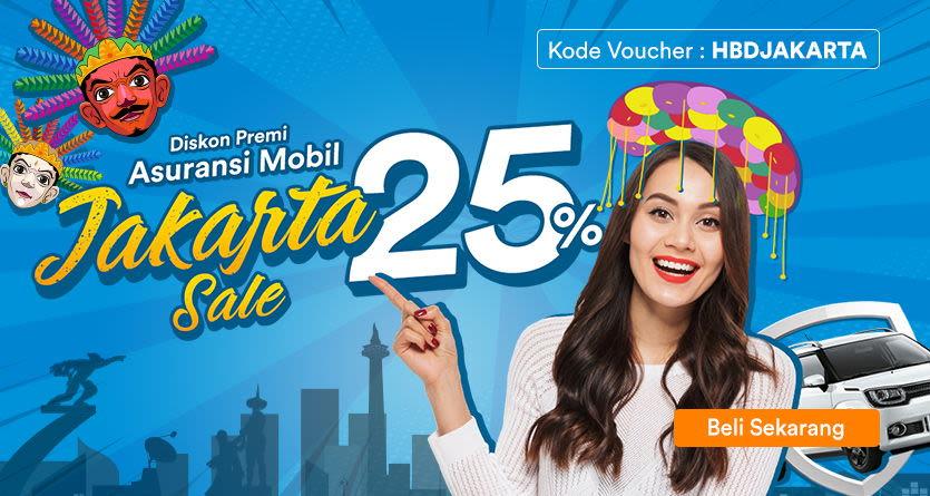 Promo Asuransi Mobil Ulang Tahun Jakarta