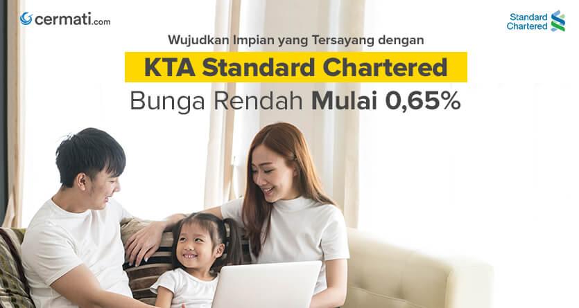 Kredit Tanpa Agunan Kta Standard Chartered Online Cermati Com