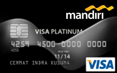 Kartu Kredit Mandiri Platinum Card - Cermati