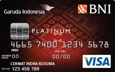 Kartu Kredit Garuda Bni Visa Platinum Card Cermati Com