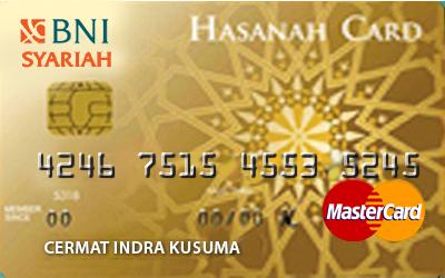 Kartu Kredit Bni Syariah Hasanah Card Gold Cermati Com