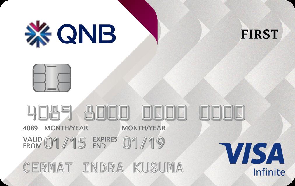 Kartu Kredit QNB Visa Infinite Card - Cermati