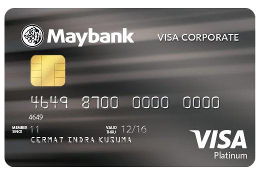 Kartu Kredit Maybank Corporate Platinum Visa Cermati Com