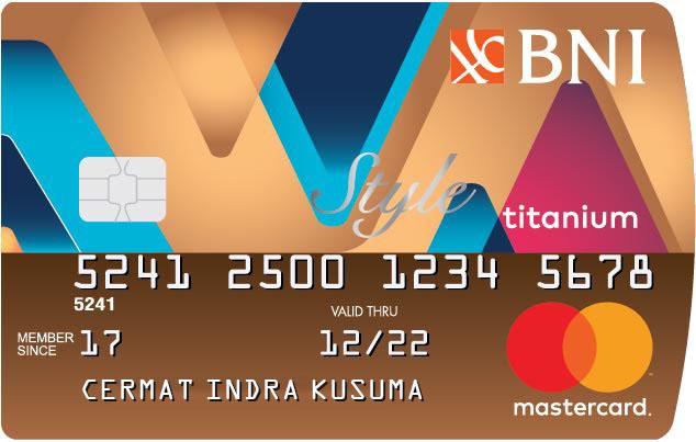 Kartu Kredit Bni Style Titanium Cermati Com