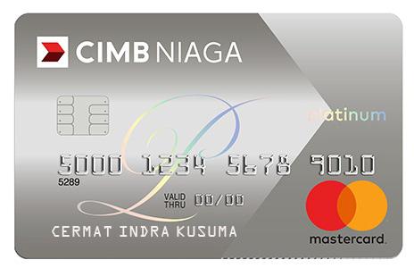 Kartu Kredit Cimb Niaga Mastercard Platinum Cermati Com