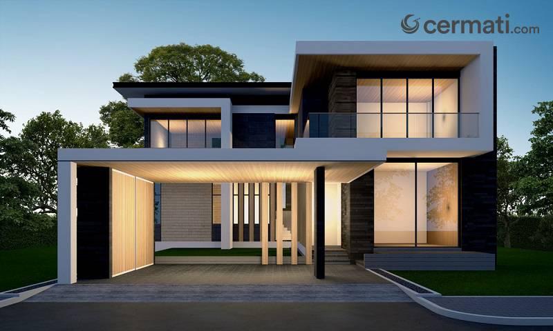 Rumah Minimalis 2 Lantai 100 Jutaan  desain rumah minimalis dua lantai dan tips membangunnya