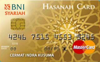 Kartu Kredit BNI Syariah Hasanah Card Gold - Cermati.com