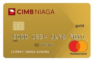 Kartu Kredit Cimb Niaga Mastercard Gold Cermati Com