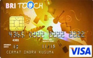 Kartu Kredit Bri Touch Visa Gold Cermati Com
